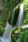 Weelderige waterval Stock Foto's