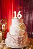 Weelderige Zoete cake 16 stock foto's