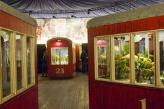 Weens Reuzereuzenradmuseum Stock Afbeeldingen