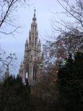 Weens Stadhuis - een Sprookje II van de Winter Royalty-vrije Stock Fotografie