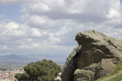 Weeping Rock Stock Image