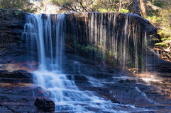 Weeping Rock falls, waterfall landscape Stock Photography