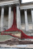 The Weeping Window. At St Georges Hall in Liverpool Royalty Free Stock Photo