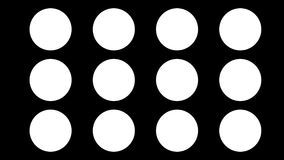 Weer geanimeerde reeks pictogrammen of symbolen Lijn met alpha- steen Vlak Ontwerp Meer opties in mijn profiel stock footage