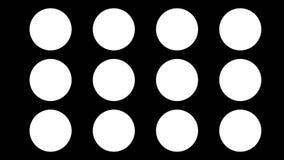 Weer geanimeerde reeks pictogrammen of symbolen Lijn met alpha- steen Vlak Ontwerp Meer opties in mijn profiel stock videobeelden