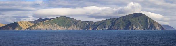 Weergeven aan de Marlborough-Geluiden, Nieuw Zeeland royalty-vrije stock afbeelding