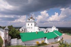 Weergeven bij Nikolsky-het Klooster van Mensen, Gorohovets, Rusland royalty-vrije stock foto's