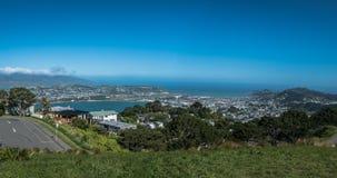 Weergeven naar Wellington Airport New Zealand royalty-vrije stock afbeelding
