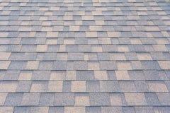 Weergeven op dakspanen op het dak royalty-vrije stock afbeelding