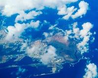 Weergeven op de haven van Gran Canaria stock fotografie