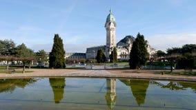 Weergeven op Limoges, Frankrijk stock video