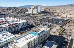 Weergeven over Laughlin, Nevada royalty-vrije stock foto's