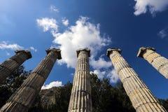 Weergeven van Antic-kolommen royalty-vrije stock afbeelding