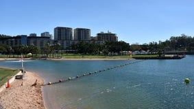 Weergeven van Darwin Waterfront stock foto