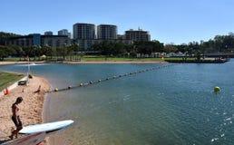 Weergeven van Darwin Waterfront royalty-vrije stock afbeelding