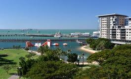 Weergeven van Darwin Waterfront royalty-vrije stock afbeeldingen