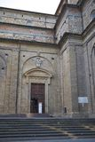 Weergeven van de kerk van San Lorenzo stock afbeeldingen