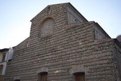 Weergeven van de kerk van San Lorenzo royalty-vrije stock afbeelding