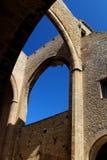 Weergeven van de kerk van Santa Maria allo Spasimo in Palermo, Italië stock foto