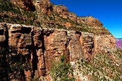 Weergeven van de noordelijke rand van het Nationale Park van Grand Canyon, Arizona royalty-vrije stock foto