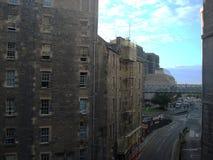 Weergeven van de oude stad van Edinburgh royalty-vrije stock foto