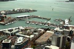 Weergeven van de stad van Auckland royalty-vrije stock afbeelding