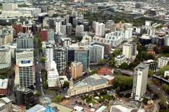 Weergeven van de stad van Auckland stock afbeelding