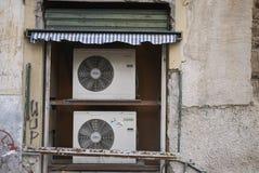 Weergeven van een airconditioner royalty-vrije stock foto's