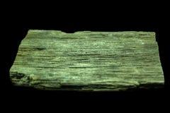 Weergeven van een van angst verstijfd hout, dat op zwarte achtergrond wordt geïsoleerd stock fotografie