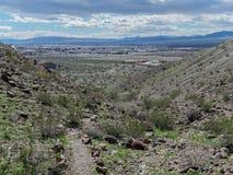 Weergeven van een wandelingssleep, Donderpadstad, Arizona royalty-vrije stock fotografie