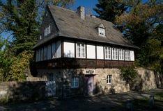 Weergeven van Goslar in een mooie de herfstdag, Duitsland royalty-vrije stock afbeeldingen