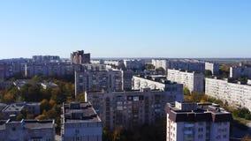 Weergeven van het satellietbeeld van de gebouwen van de provinciale stad