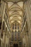 Weergeven van het Zuiden Transcept van Beverely-Munster van het koor, Beverley, het Berijden van het Oosten van Yorkshire, het UK stock foto