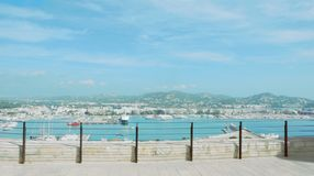 Weergeven van Ibiza-Citadel stock foto's
