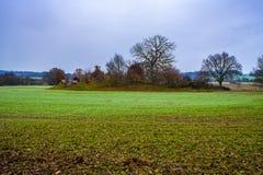 Weergeven van Kasteeltol in Kent, Engeland royalty-vrije stock foto's