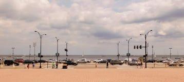 Weergeven van Meer Michigan stock fotografie