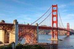 Weergeven van Oriëntatiepunt Golden gate bridge San Francisco, Californi?, de V stock afbeelding