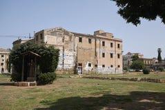 Weergeven van Piazza de tuin van Magione royalty-vrije stock foto