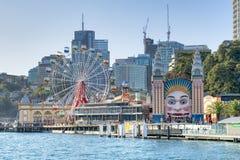 Weergeven van Sydney Harbor stock foto's