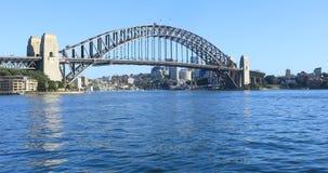 Weergeven van Sydney Harbour Bridge in Australië 4K stock footage