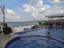 Weergeven van Tanjung Bira in Zuiden Sulawesi royalty-vrije stock fotografie