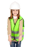 Weerspiegelend vest stock foto