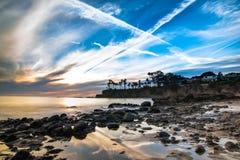 Weerspiegelende getijdenpool in Laguna Beach, Californië Royalty-vrije Stock Afbeelding