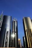 Weerspiegelende torens JLT Royalty-vrije Stock Fotografie