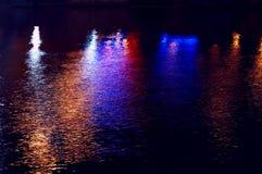 Weerspiegeling van licht Stock Afbeeldingen