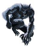 Weerwolf stock illustratie