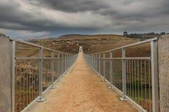 Weg über Brücke Südafrika Stockfotografie