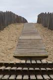 Weg über den Sanddünen Lizenzfreie Stockfotos