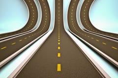 Weg vector illustratie