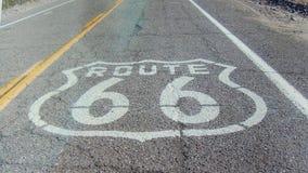 Weg 66 lizenzfreies stockbild